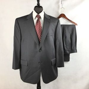 Joseph & Feiss pin striped wool suit